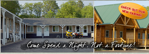 Upper Peninsula motel and cabin rentals